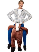 Adult Piggy Back Horse Costume [24662]