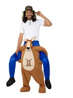 Adult Piggy Back Kangaroo Costume