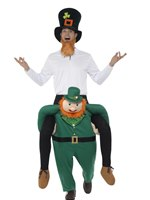 Adult Piggy Back Paddy's Leprechaun Costume