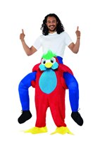 Adult Piggy Back Parrot Costume