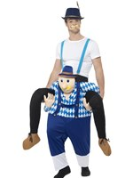 Adult Piggy Back Bavarian Costume