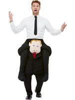 Adult Piggyback Comrade Costume