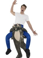 Adult Piggy Back Dinosaur Costume
