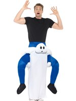 Adult Piggy Back Ghost Costume [47168]