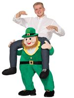Adult Piggyback Leprechaun Costume