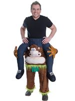 Adult Piggy Back Monkey Costume