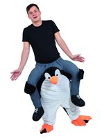 Adult Piggyback Penguin Costume [AF005]