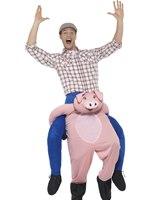 Adult Piggy Back Pig Costume [47157]