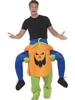 Adult Piggy Back Pumpkin Costume [47166]