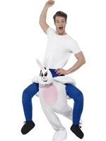 Adult Piggy Back Rabbit Costume