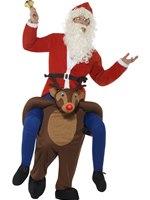 Adult Piggyback Reindeer Rudolf Costume [49669]