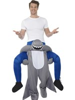 Adult Piggy Back Shark Costume