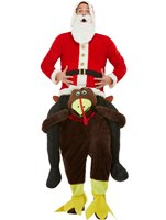 Adult Piggyback Turkey Costume [61029]