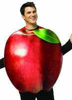 Adult Get Real Apple Costume [6830]