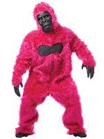 Adult Pink Gorilla Costume