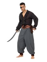 Adult Pirate Blouson Pants
