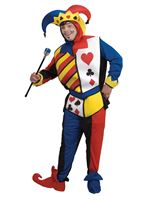 Adult Playing Card Joker Costume [RU16869]