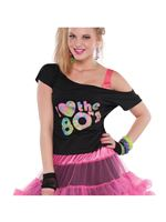 Adult Plus Size 80s T-Shirt [9902146]