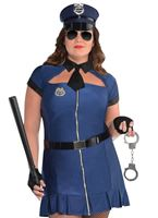 Adult Plus Size Bad Cop Costume