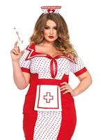 Adult Plus Size Bedside Betty Costume