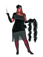Adult Plus Size Charleston Costume