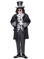 Adult Plus Size Dark Mad Hatter Costume
