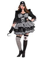 Adult Plus Size Dark Sea Maiden Costume