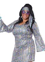 Adult Plus Size Disco Sensation Costume