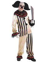 Adult Plus Size Freakshow Clown Suit