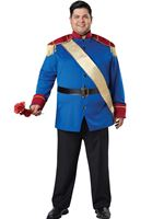 Adult Plus Size Storybook Prince Costume