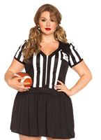 Adult Plus Size Halftime Hottie Costume