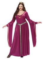 Adult Plus Size Lady Guinevere Costume