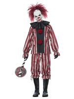 Adult Plus Size Nightmare Clown Costume
