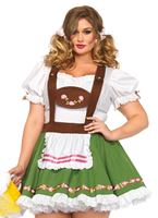 Adult Plus Size Oktoberfest Sweetie Costume
