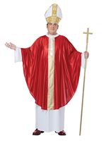 Adult Plus Size Pope Costume