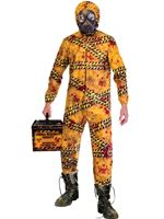 Adult Plus Size Quarentine Zombie Costume