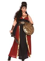 Adult Plus Size Regal Warrior Costume