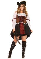 Adult Plus Size Ruthless Pirate Wench Costume