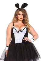 Adult Plus Size Shapewear Bunny Costume [85484X]