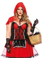 Adult Plus Size Shapewear Riding Hood Costume [85485X]