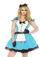 Adult Plus Size Storybook Alice Costume