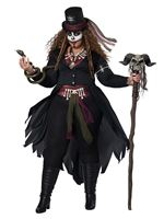 Adult Plus Size Voodoo Magic Costume [01432PLUS]