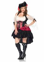 Adult Plus Size Wicked Wench Costume