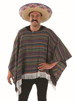 Adult Poncho Costume