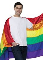 Adult Pride Flag Cape [90273]