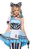 Adult Psychedelic Alice Costume [85225]