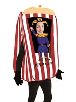 Adult Punch the Puppet Booth Costume [FS4151]