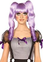 Adult Purple Dolly Bob Wig [A2732P]