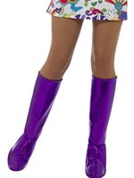 Adult Purple GoGo Boot Covers [43067]