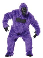 Adult Purple Gorilla Costume [01010PUE]